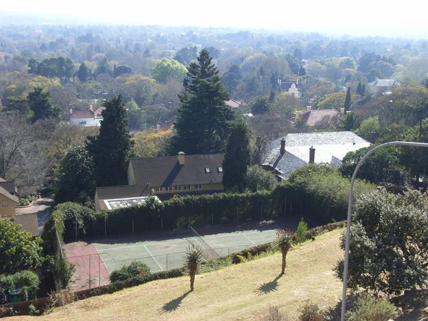 ヨハネスブルク テニスコートのある豪邸