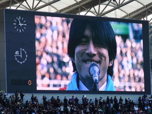 ミスチル桜井さんの国歌斉唱 - 写真共有サイト「フォト蔵」