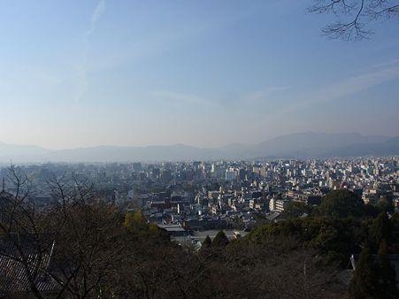 龍馬之墓碑前からの景色