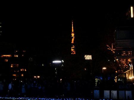 ミッドタウンから東京タワー