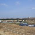 Photos: 多摩川を渡る中央線