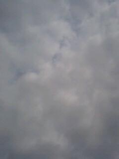まだ少し暗い雲だけど、いい...