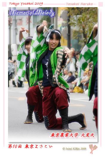 写真: 東京農業大学YOSAKOIソーラン同好会 大黒天_01 - 第10回 東京よさこい