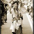 写真: 早稲田大学よさこいチーム東京花火_08 - 良い世さ来い2010 新横黒船祭