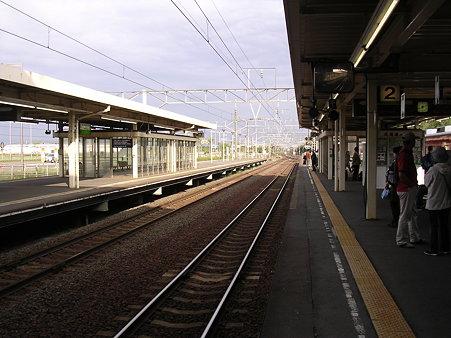 南千歳駅6