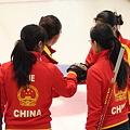 写真: 中国チーム