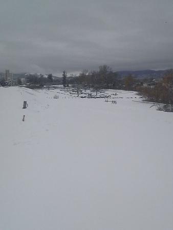 旭川も雪一面 20091101