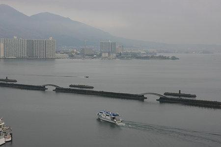 琵琶湖の朝(3)