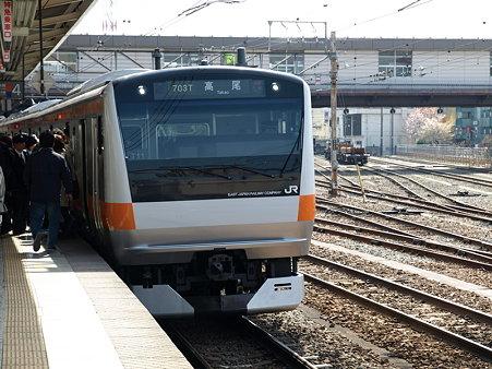 E233系中央線(八王子駅4番線)