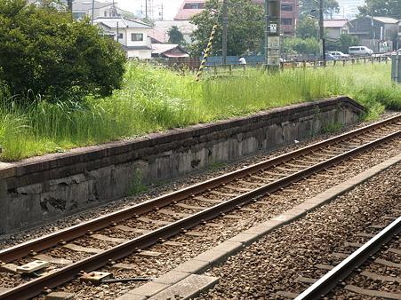 古いホーム(相原駅)