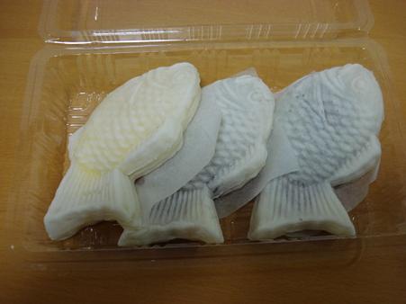 20091225 博多一国堂の白いタイヤキ