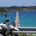 写真: 角島とGS