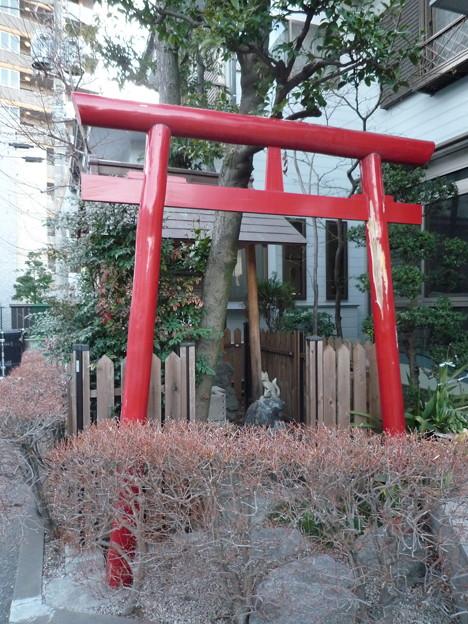 稲荷社(屋敷神 板橋区蓮沼町) 2