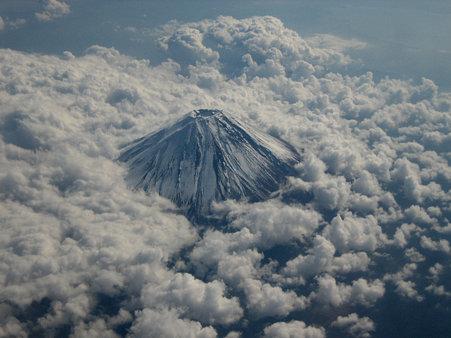 富士山(撮影者=関東の某内科医師)