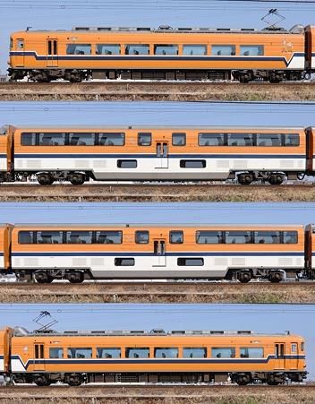 近鉄30000系30215F(V15)海側側面 2010.02.20