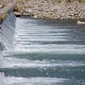 浅川の流れ