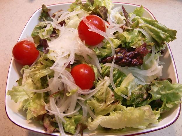 Photos: 生野菜のサラダ