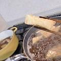 Photos: 厚揚げも揚げてからだし汁のほうへ。