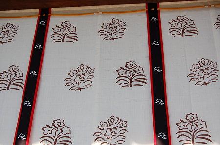 唐招提寺 講堂のテンプルカーテン
