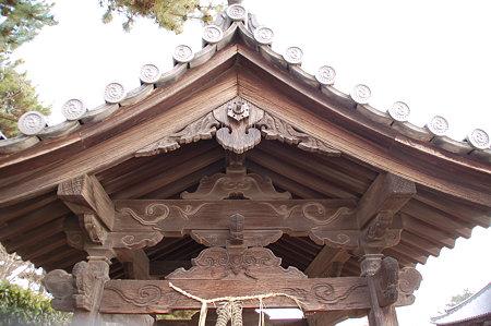 法隆寺中門前 手水舎DSC_0971