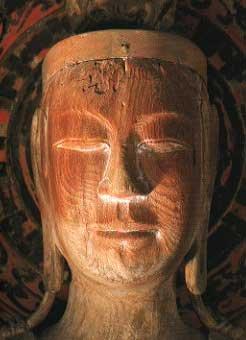 奈良法輪寺虚空蔵菩薩立像
