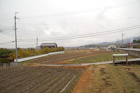 奈良円照寺付近 山村