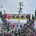 Photos: 上社御柱祭~本宮四之御柱~