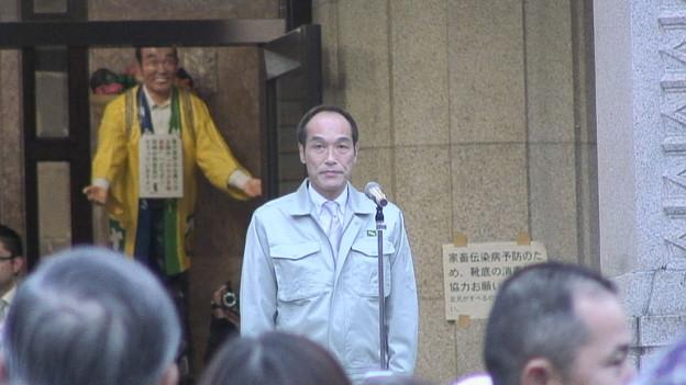 写真: 東国原英夫宮崎県知事退任式5
