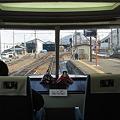 長野電鉄 1000系ゆけむり 前面展望