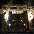 大晦日の布川神社 参道