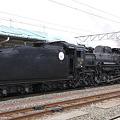 会津若松駅 D51形蒸気機関車1