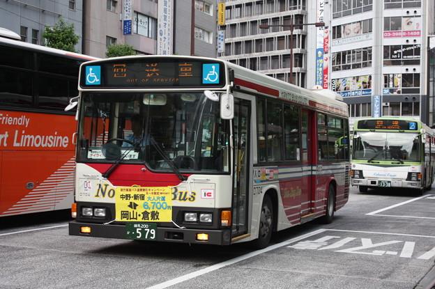 関東バス D704