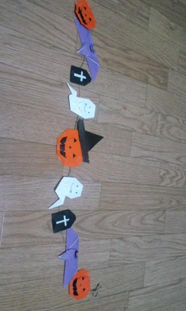 簡単 折り紙:ハロウィン 飾り 折り紙-divulgando.net