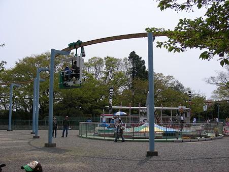 松ヶ岡公園のエアサイクル