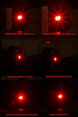 光芒比較(Lumix DMC-G1)