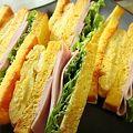 Photos: ニンジン食パンでサンドイッチ