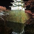 弘前城・夜桜