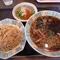 Photos: 宝龍(釧路) チャーハンセット(ラーメン普通サイズ・細麺)