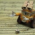 Photos: ペーパークラフト・WALL・E