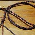 写真: 男の三つ編み