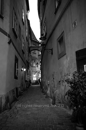 corridor in wien