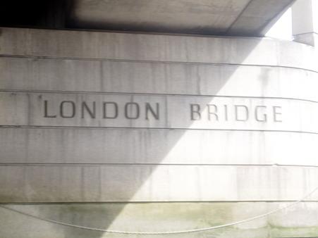 これが噂のロンドン橋