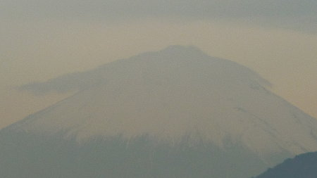 091105-富士山 笠雲 (3)