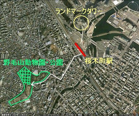 桜木町周辺