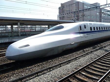 100223-小田原駅 新幹線N700追抜き (26)