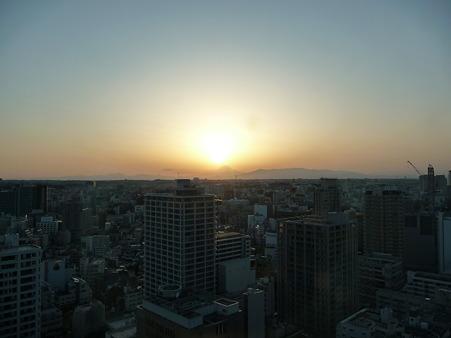 100311-富士山と夕陽 (9)