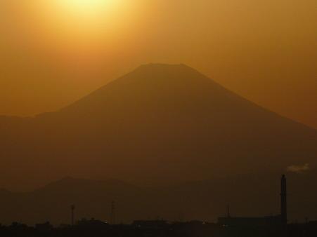 100311-富士山と夕陽 (11)