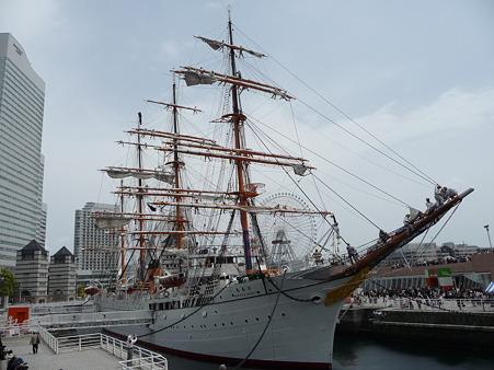 100429-日本丸 総帆展帆-46