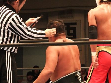 新日本プロレス CMLL 後楽園ホール 20110123 (4)