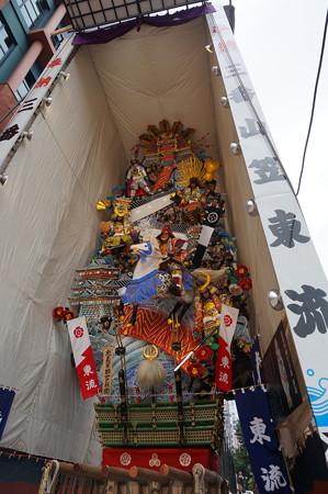 03 2014年 博多祇園山笠 飾り山笠 忠義軍師官兵衛 東流 (3)